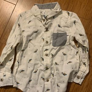 Old Navy Kids Button Up Size 4T